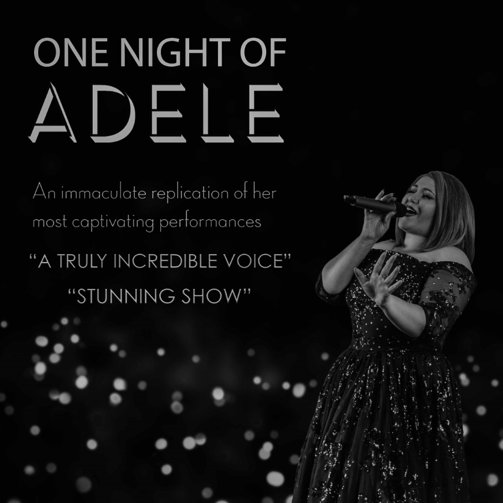 Adele with Live Pianist accompaniment
