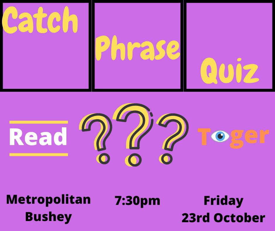 catch phrase quiz night