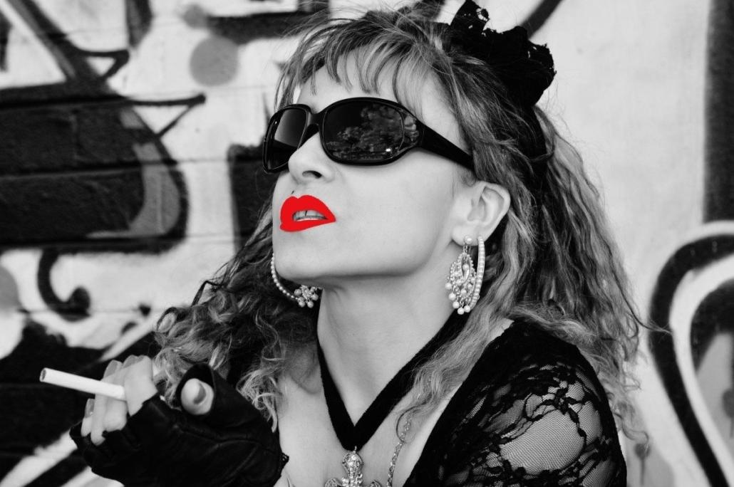 jodie jackson as Madonna